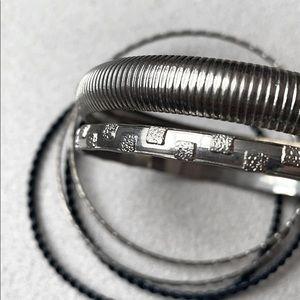 Set of bangles| silver bracelets